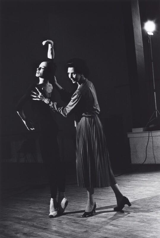 Manola Asensio; Dame Beryl Grey, by Alan Bergman, 1978 - NPG x125579 - © Alan Bergman