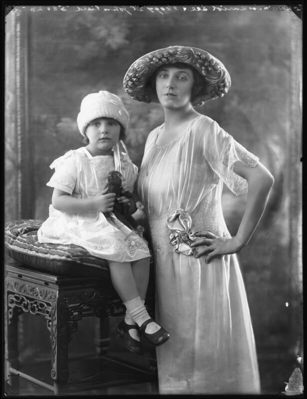 Peggy St John Field; Auriol Lee, by Bassano Ltd, 31 August 1921 - NPG x101257 - © National Portrait Gallery, London
