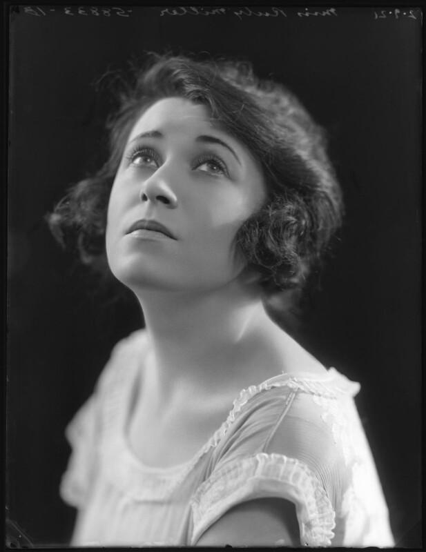 Ruby Miller, by Bassano Ltd, 2 September 1921 - NPG x101258 - © National Portrait Gallery, London