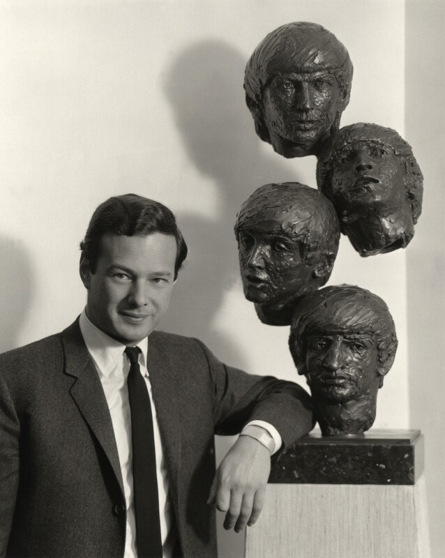 Brian Epstein, by Rex Coleman, for  Baron Studios, 6 October 1964 - NPG x125641 - © National Portrait Gallery, London