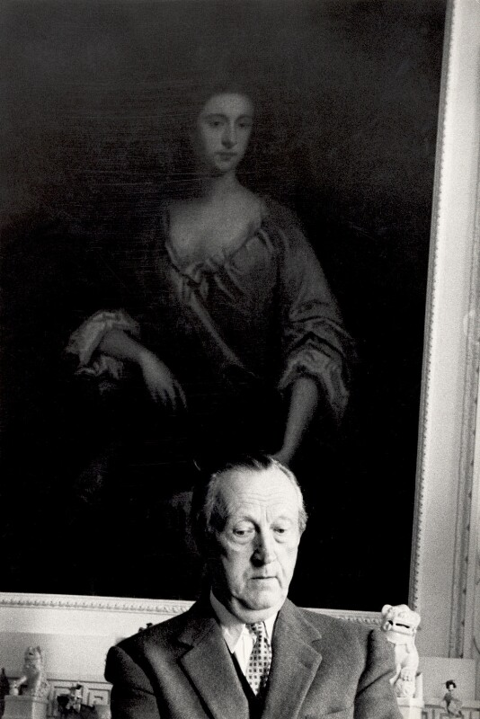 Sir Sacheverell Sitwell, 6th Bt, by Derek Parker, circa 1958 - NPG x125618 - © National Portrait Gallery, London