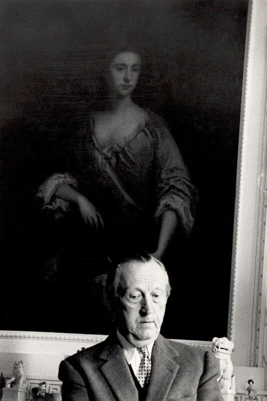 Sir Sacheverell Sitwell, 6th Bt, by Derek Parker, circa 1958 - NPG x125618 - © National Portrait Gallery, London