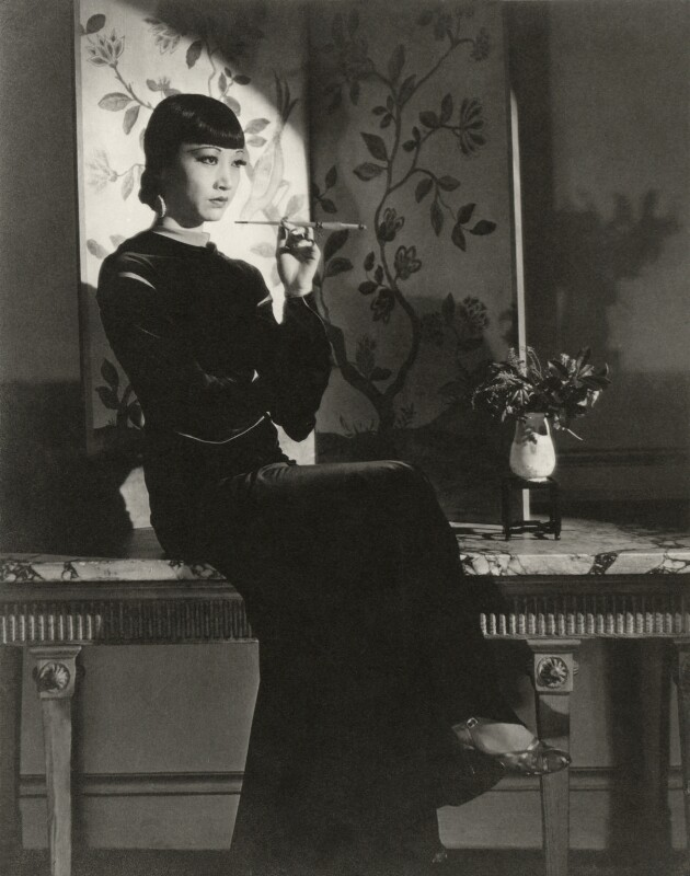 Anna May Wong, by Francis Goodman, 1933 - NPG x68812 - © National Portrait Gallery, London