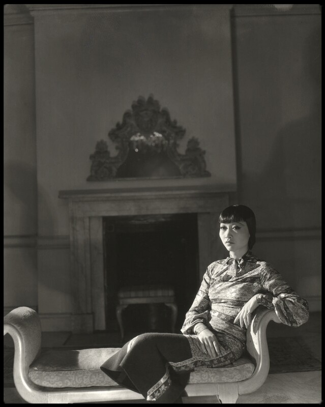 Anna May Wong, by Francis Goodman, 1933 - NPG x68811 - © National Portrait Gallery, London