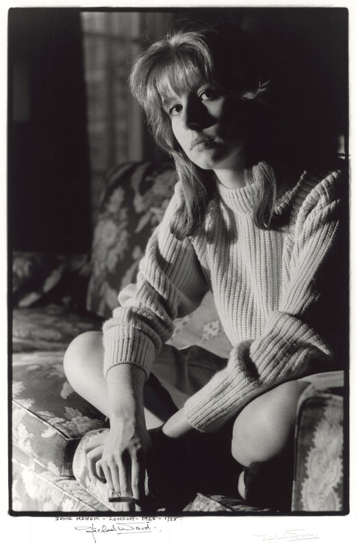 Jane Asher, by Michael Ward, 9 July 1963 - NPG x125656 - © Michael Ward Archives / National Portrait Gallery, London