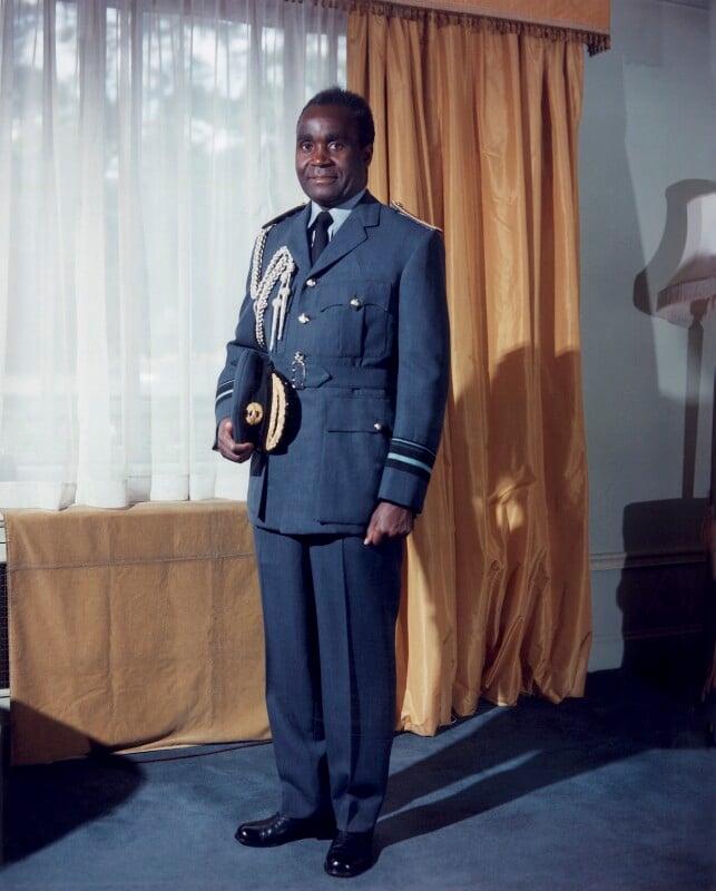 Kenneth David Kaunda, by Rex Coleman, for  Baron Studios, 15 June 1965 - NPG x125661 - © National Portrait Gallery, London