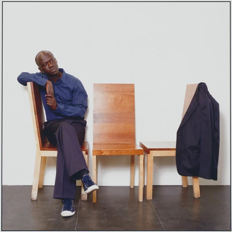 David Adjaye, by Sal Idriss, 2002 - NPG x125662 - © Sal Idriss / National Portrait Gallery, London