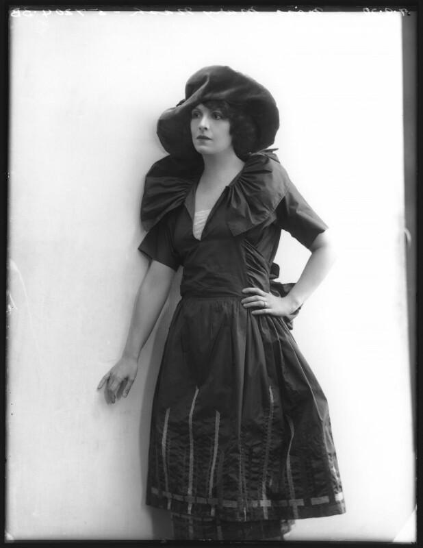 Mary Nash, by Bassano Ltd, 7 September 1920 - NPG x101319 - © National Portrait Gallery, London