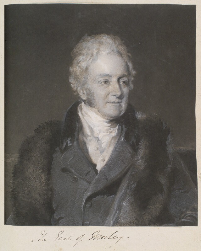 John Parker, 1st Earl of Morley, by William Say, after  Frederick Richard Say, published 1831 - NPG D11335 - © National Portrait Gallery, London
