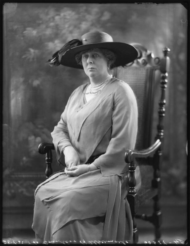 Gertrude Lucia (née Egerton), Countess of Albemarle, by Bassano Ltd, 28 July 1922 - NPG x121828 - © National Portrait Gallery, London