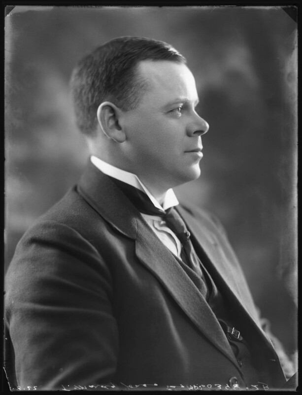 Thomas Isaac Mardy Jones, by Bassano Ltd, 2 August 1922 - NPG x121840 - © National Portrait Gallery, London