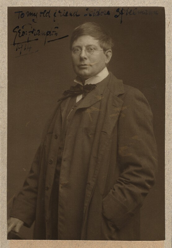 Sir George James Frampton, possibly by George Charles Beresford, circa 1902 - NPG x13492 - © National Portrait Gallery, London
