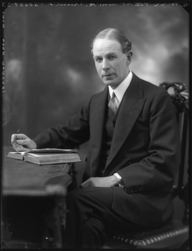 Robert Munro, 1st Baron Alness, by Bassano Ltd, 4 October 1922 - NPG x121927 - © National Portrait Gallery, London