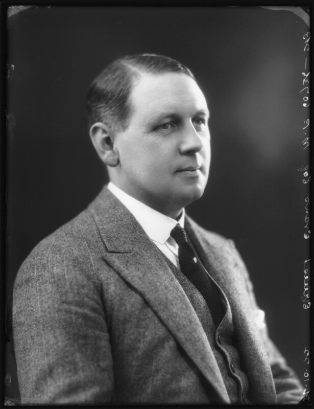 Ernest Evans, by Bassano Ltd, 24 October 1922 - NPG x121998 - © National Portrait Gallery, London