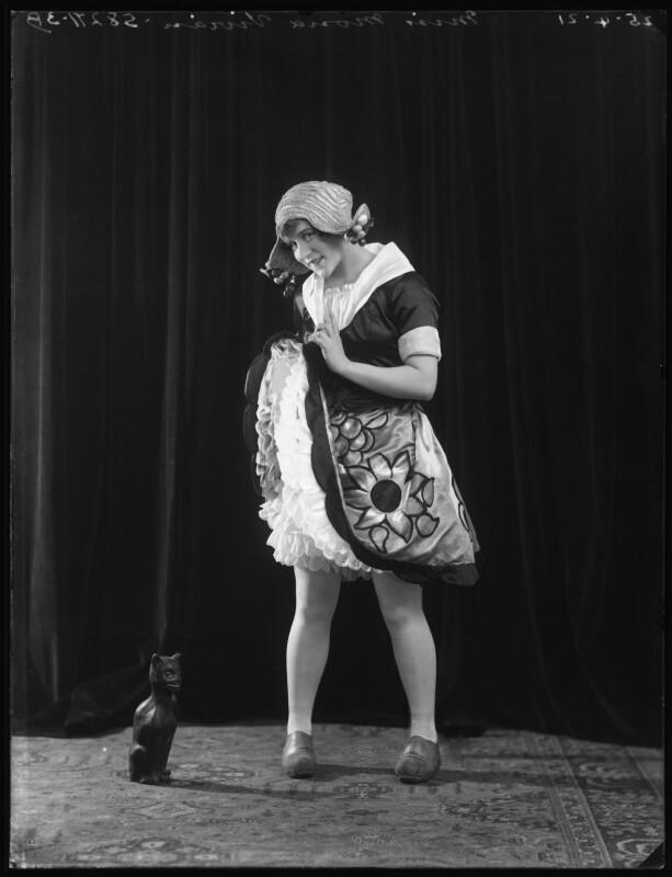 Mona Vivian, by Bassano Ltd, 25 April 1921 - NPG x101334 - © National Portrait Gallery, London