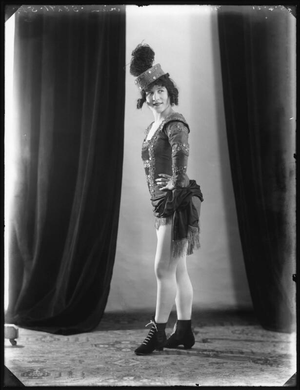 Mona Vivian, by Bassano Ltd, 25 April 1921 - NPG x101336 - © National Portrait Gallery, London