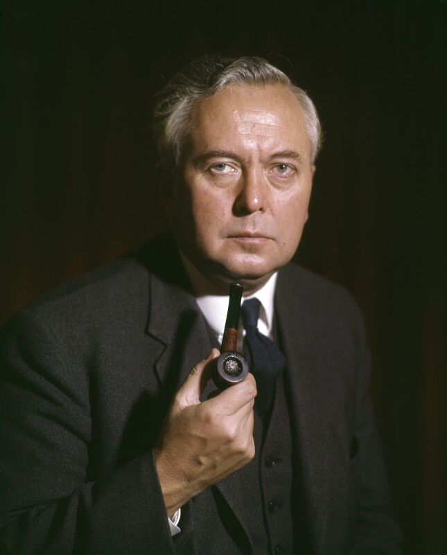 Harold Wilson, by Rex Coleman, for  Baron Studios, 6 November 1963 - NPG x125716 - © National Portrait Gallery, London