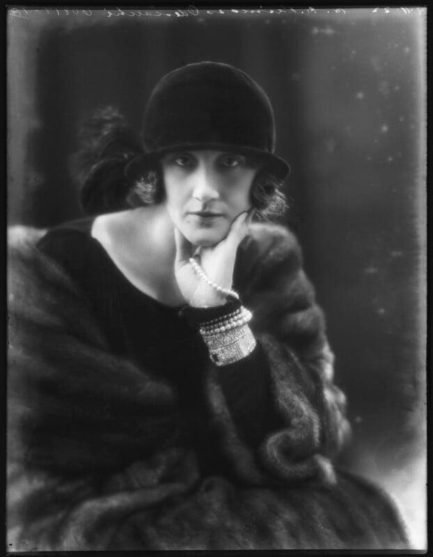 Dora (née Labonchere), Princess Odescalchi, by Bassano Ltd, 9 November 1922 - NPG x122015 - © National Portrait Gallery, London