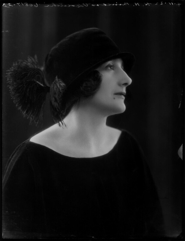 Dora (née Labonchere), Princess Odescalchi, by Bassano Ltd, 9 November 1922 - NPG x122016 - © National Portrait Gallery, London