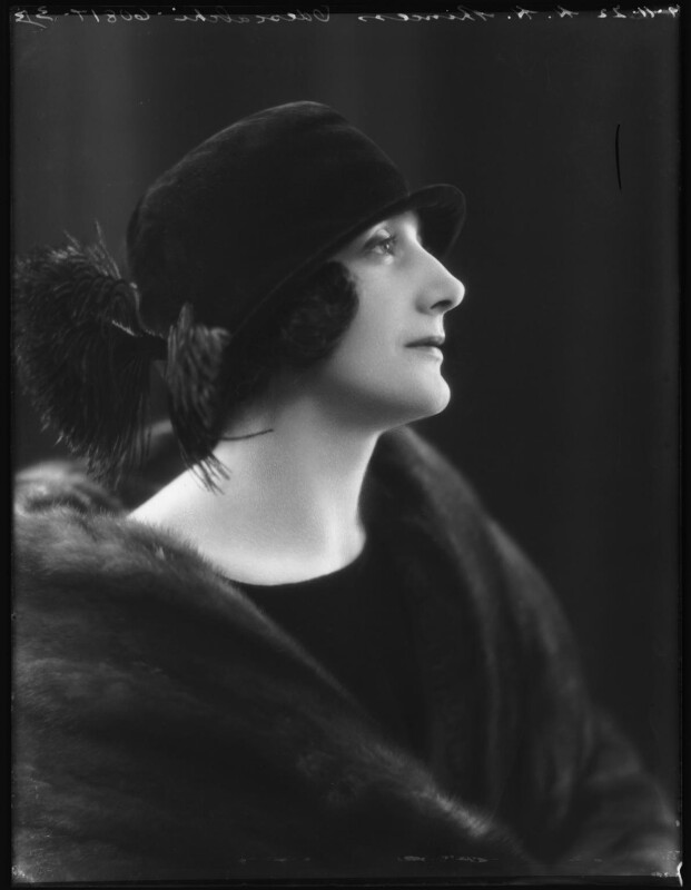 Dora (née Labonchere), Princess Odescalchi, by Bassano Ltd, 9 November 1922 - NPG x122017 - © National Portrait Gallery, London