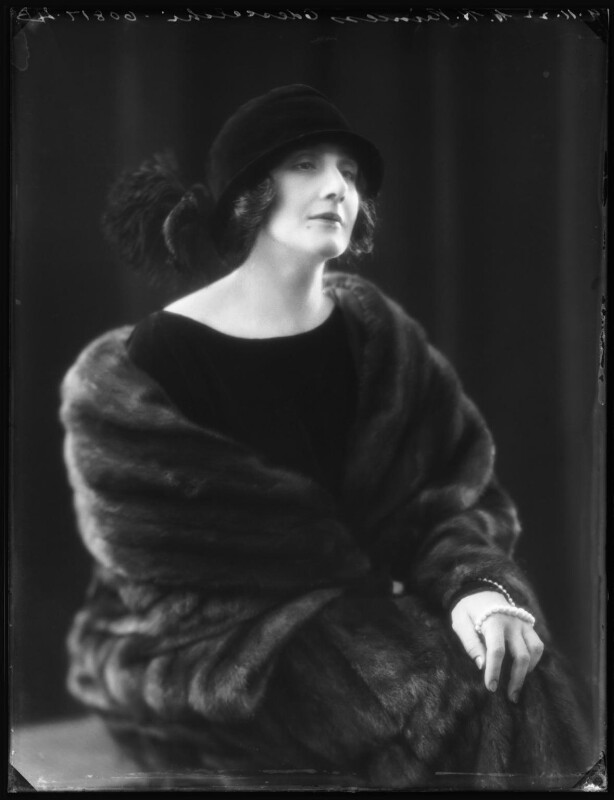 Dora (née Labonchere), Princess Odescalchi, by Bassano Ltd, 9 November 1922 - NPG x122018 - © National Portrait Gallery, London