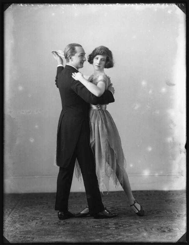 Roy August; P. Vere Campbell, by Bassano Ltd, 13 November 1922 - NPG x122036 - © National Portrait Gallery, London
