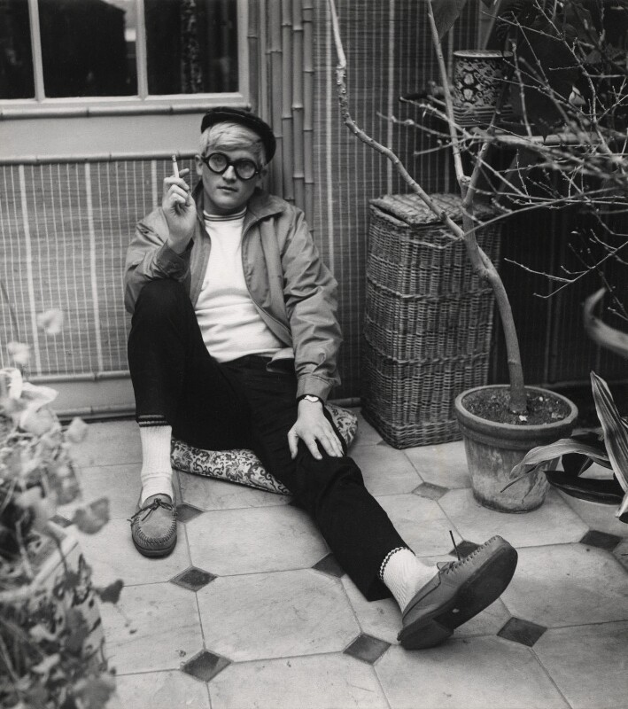 David Hockney, by Cecil Beaton, March 1965 - NPG x40199 - © Cecil Beaton Studio Archive, Sotheby's London