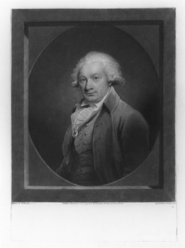 Paul Sandby, by and published by Samuel William Reynolds, after  Sir William Beechey, published 1 October 1794 - NPG D20478 - © National Portrait Gallery, London