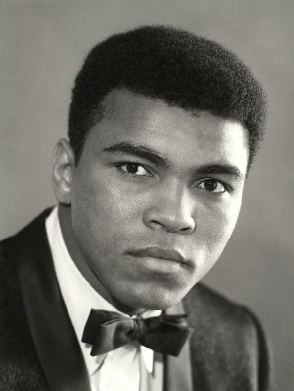 Muhammad Ali, by Rex Coleman, for  Baron Studios, 23 May 1966 - NPG x125764 - © National Portrait Gallery, London