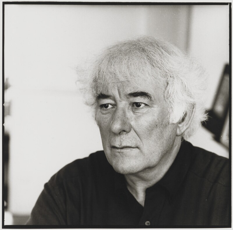 Seamus Heaney, by Mark Gerson, June 1996 - NPG x125843 - © Mark Gerson / National Portrait Gallery, London
