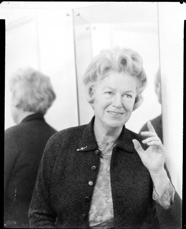 Dame Gracie Fields, by Baron Studios, 4 November 1964 - NPG x125867 - © National Portrait Gallery, London