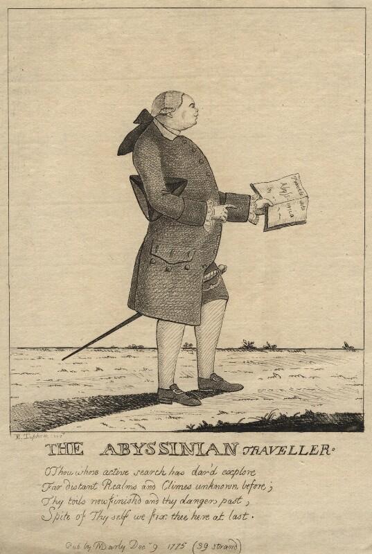 James Bruce, by E. Topham, published 1775 - NPG D13789 - © National Portrait Gallery, London