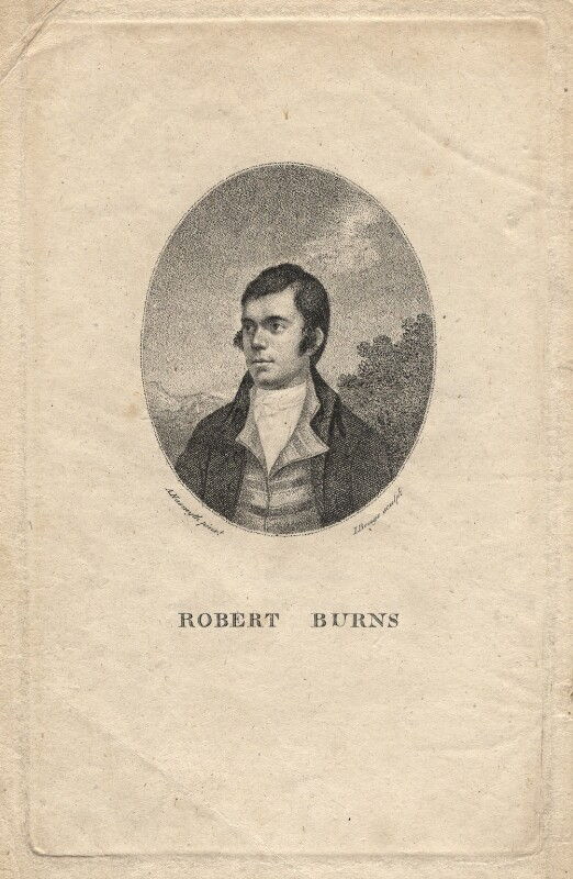 Robert Burns, by John Beugo, after  Alexander Nasmyth, published 1787 - NPG D13790 - © National Portrait Gallery, London
