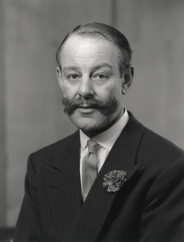 Sir Gerald Nunes Nabarro, by Rex Coleman, for  Baron Studios, 21 February 1962 - NPG x125879 - © National Portrait Gallery, London