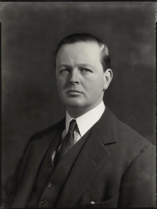 John Albert Edward William Spencer-Churchill, 10th Duke of Marlborough, by Bassano Ltd, 30 November 1934 - NPG x81217 - © National Portrait Gallery, London