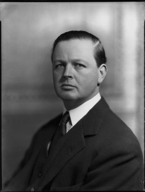 John Albert Edward William Spencer-Churchill, 10th Duke of Marlborough, by Bassano Ltd, 30 November 1934 - NPG x81218 - © National Portrait Gallery, London