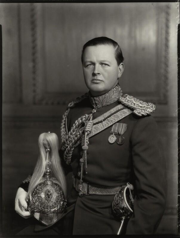 John Albert Edward William Spencer-Churchill, 10th Duke of Marlborough, by Bassano Ltd, 30 November 1934 - NPG x81221 - © National Portrait Gallery, London