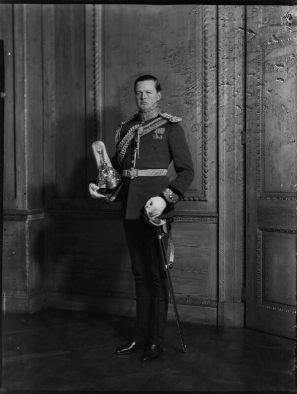 John Albert Edward William Spencer-Churchill, 10th Duke of Marlborough, by Bassano Ltd, 30 November 1934 - NPG x81222 - © National Portrait Gallery, London