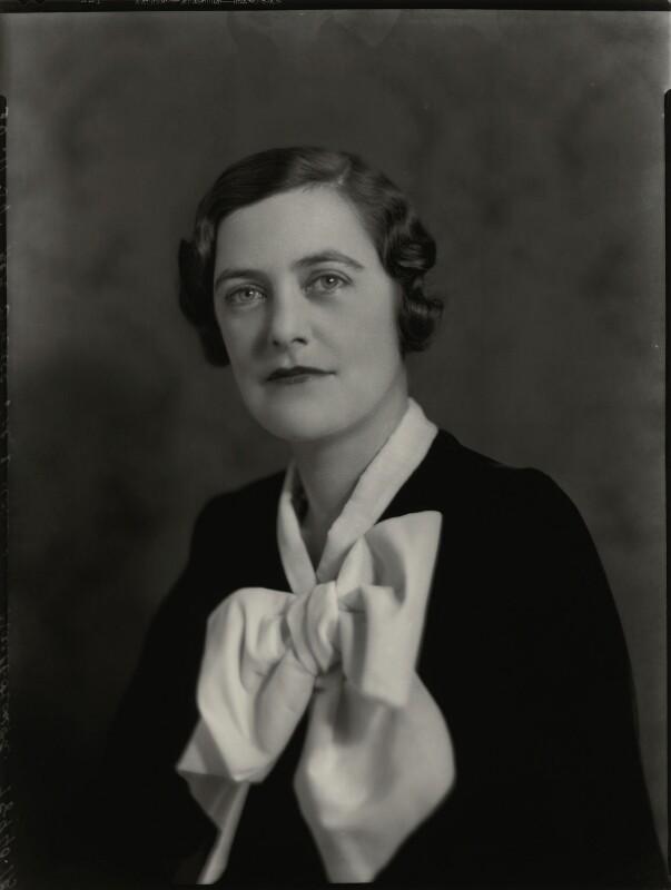 Mary Spencer-Churchill (née Cadogan), Duchess of Marlborough, by Bassano Ltd, 30 November 1934 - NPG x81223 - © National Portrait Gallery, London