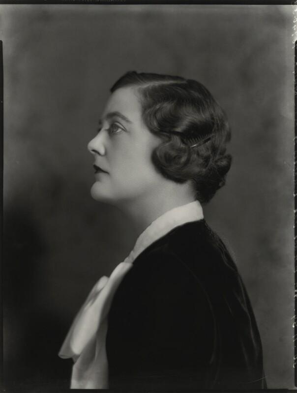 Mary Spencer-Churchill (née Cadogan), Duchess of Marlborough, by Bassano Ltd, 30 November 1934 - NPG x81225 - © National Portrait Gallery, London