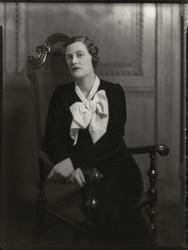 Mary Spencer-Churchill (née Cadogan), Duchess of Marlborough, by Bassano Ltd, 30 November 1934 - NPG x81226 - © National Portrait Gallery, London