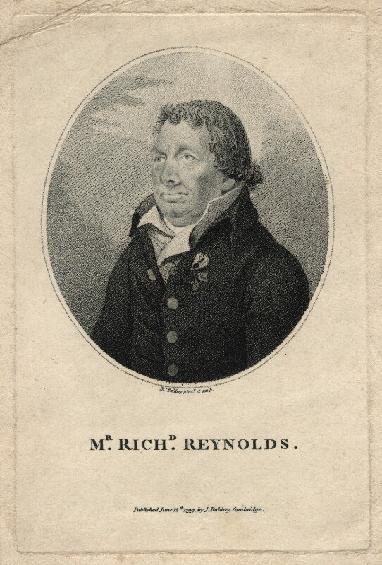 Richard Reynolds, by John Baldrey, published 1799 - NPG D13809 - © National Portrait Gallery, London