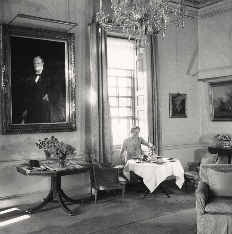Clementine Ogilvy Spencer-Churchill (née Hozier), Baroness Spencer-Churchill, by Cecil Beaton, 1940 - NPG x14212 - © Cecil Beaton Studio Archive, Sotheby's London