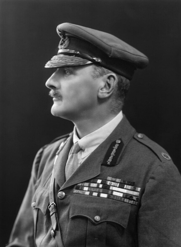 Edmund Henry Hynman Allenby, 1st Viscount Allenby, by Bassano Ltd, 13 October 1921 - NPG x18137 - © National Portrait Gallery, London