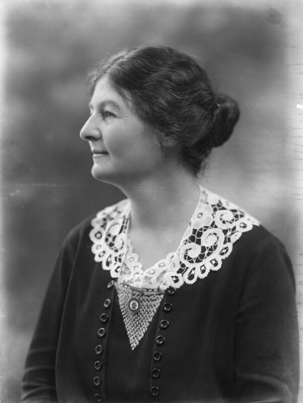 Margaret Grace Bondfield, by Bassano Ltd, 10 February 1922 - NPG x19248 - © National Portrait Gallery, London
