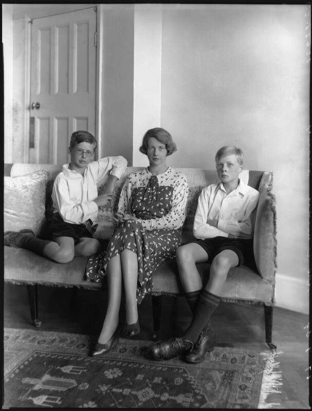 The Huxley family, by Bassano Ltd, 19 September 1934 - NPG x81211 - © National Portrait Gallery, London
