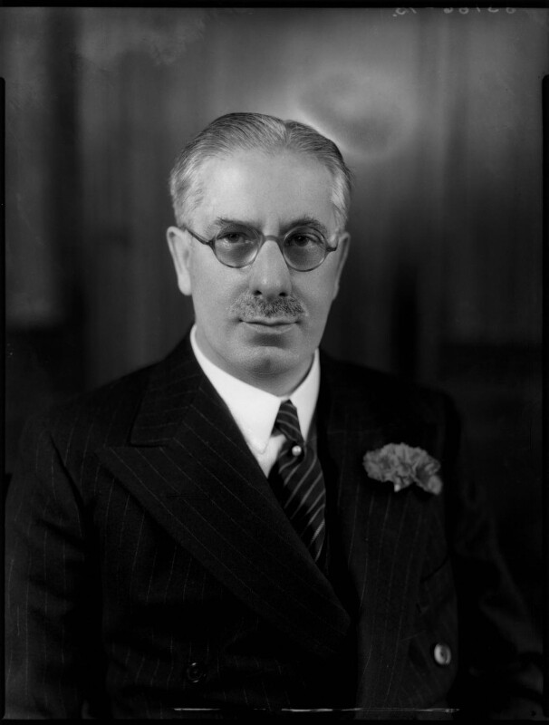 (James) Gomer Berry, 1st Viscount Kemsley, by Bassano Ltd, 7 December 1938 - NPG x81331 - © National Portrait Gallery, London