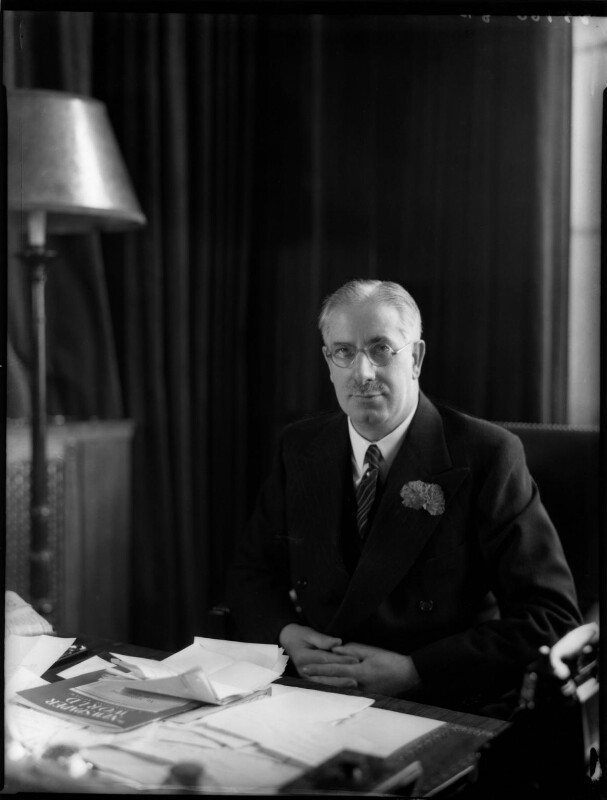 (James) Gomer Berry, 1st Viscount Kemsley, by Bassano Ltd, 7 December 1938 - NPG x81335 - © National Portrait Gallery, London