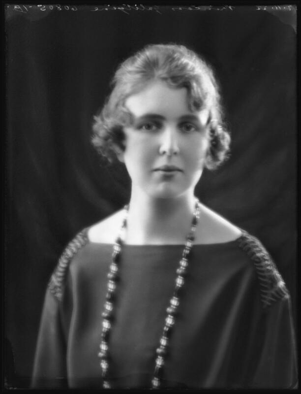 Princess Alexandra Pavlovna Galitzine, by Bassano Ltd, 7 November 1922 - NPG x122136 - © National Portrait Gallery, London