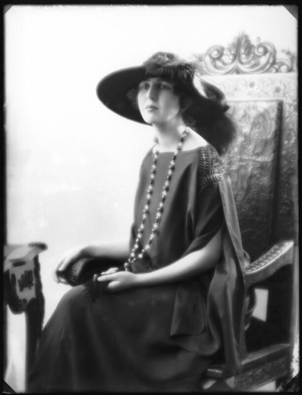 Princess Alexandra Pavlovna Galitzine, by Bassano Ltd, 7 November 1922 - NPG x122139 - © National Portrait Gallery, London
